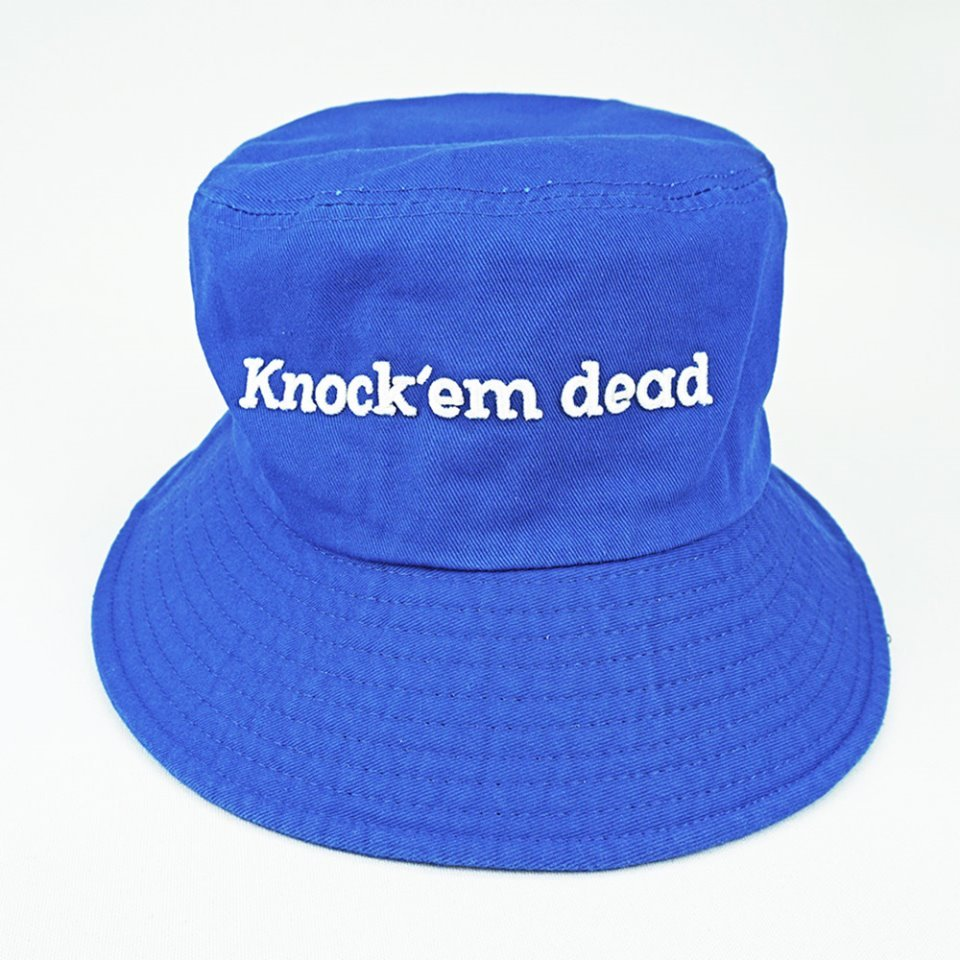 [zanimal]Knock'em Dead Big Buckethat Royal Blue