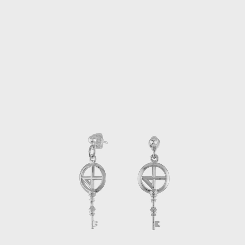 [NONENON] COMPASS KEY02 EAR