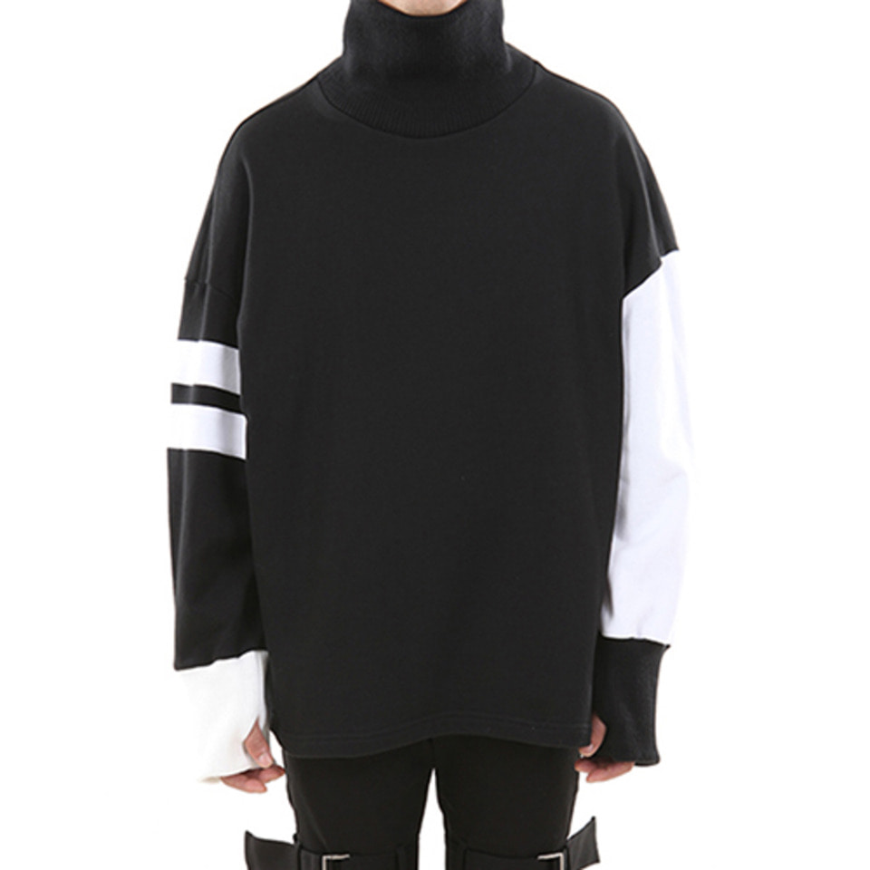 [LANG VERSIO] Hand Warmer Turtle Neck