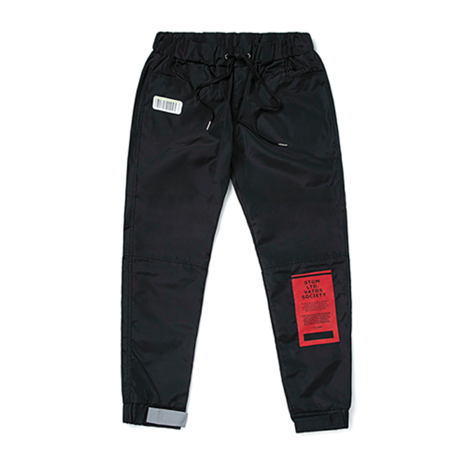 [STIGMA]TIGER BENDING JOGGER PANTS BLACK