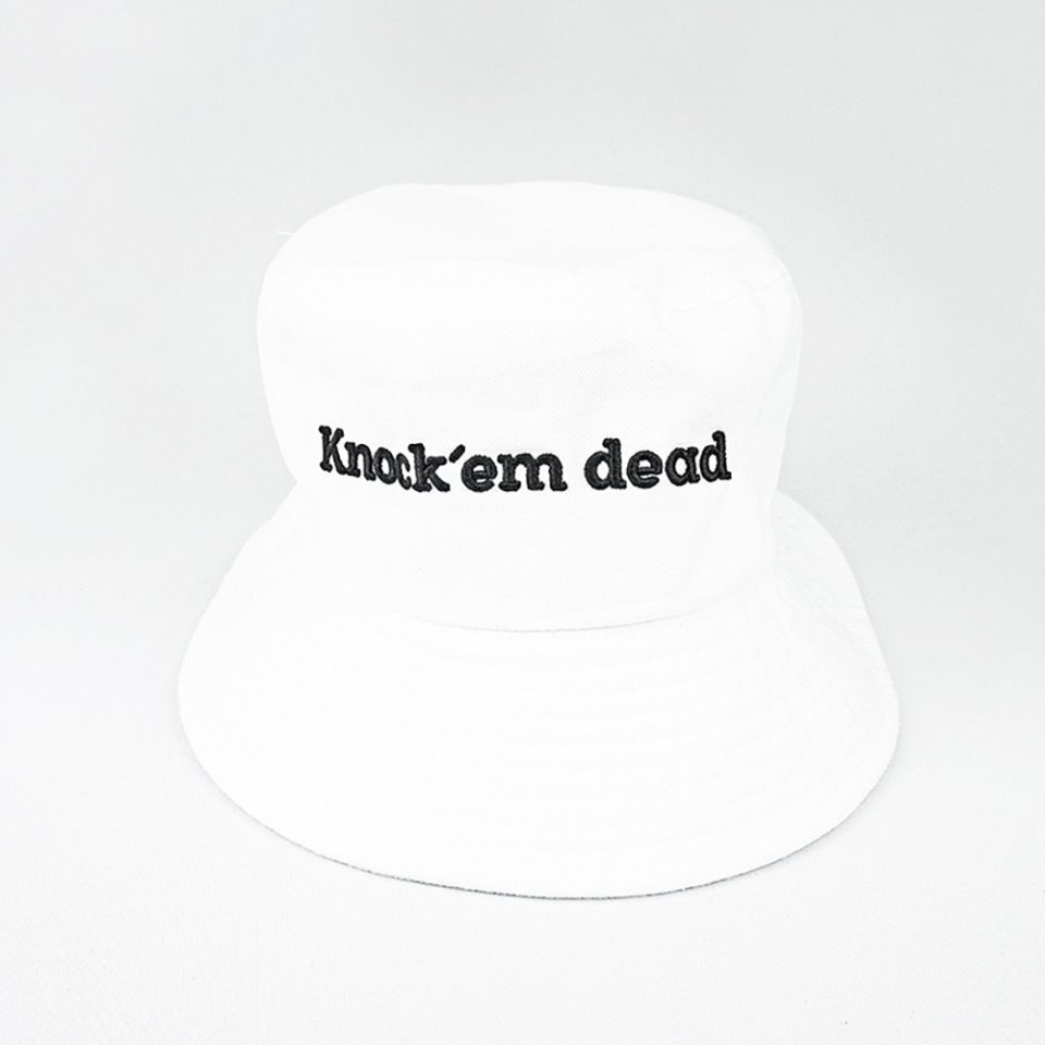 [zanimal]Knock'em Dead Big Buckethat White