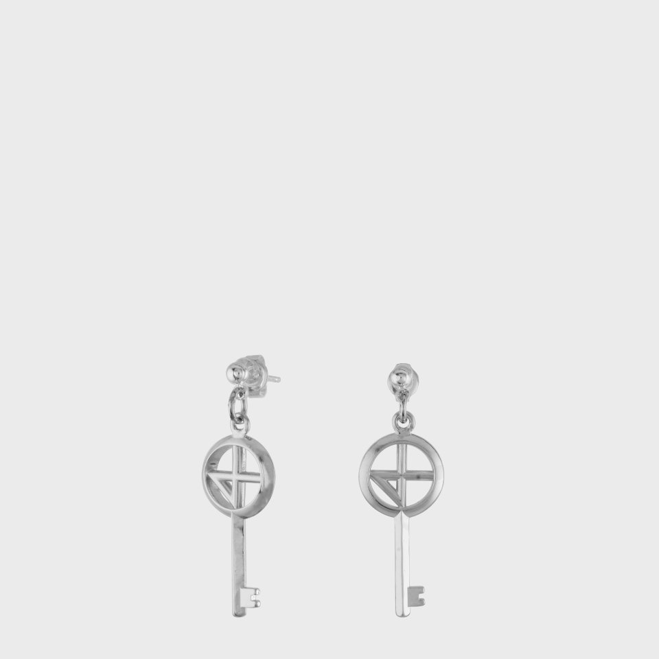 [NONENON] COMPASS KEY01 EAR