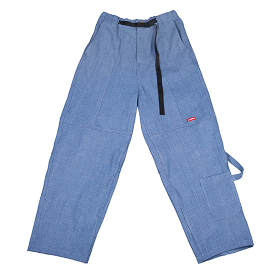 [AJOBYAJO] Painter Denim Pants [Blue]