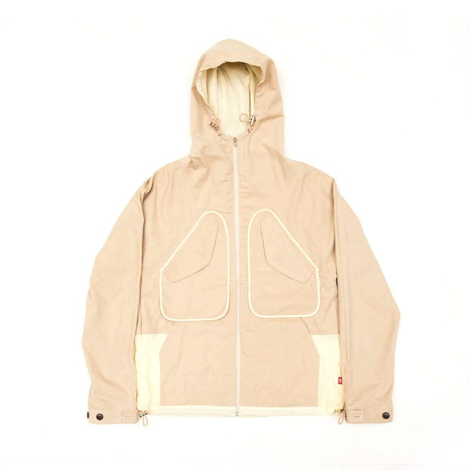 [yeseyesee] Y.E.S WEATHER JACKET BEIGE