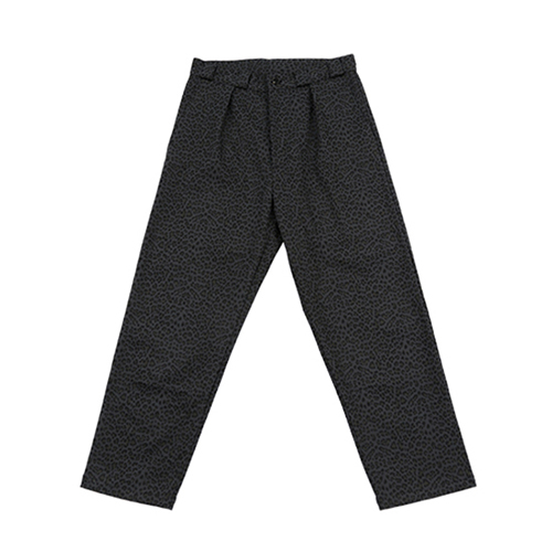 [AJOBYAJO FINK LABEL] Tapered Chino Pants [Leopard Grey]
