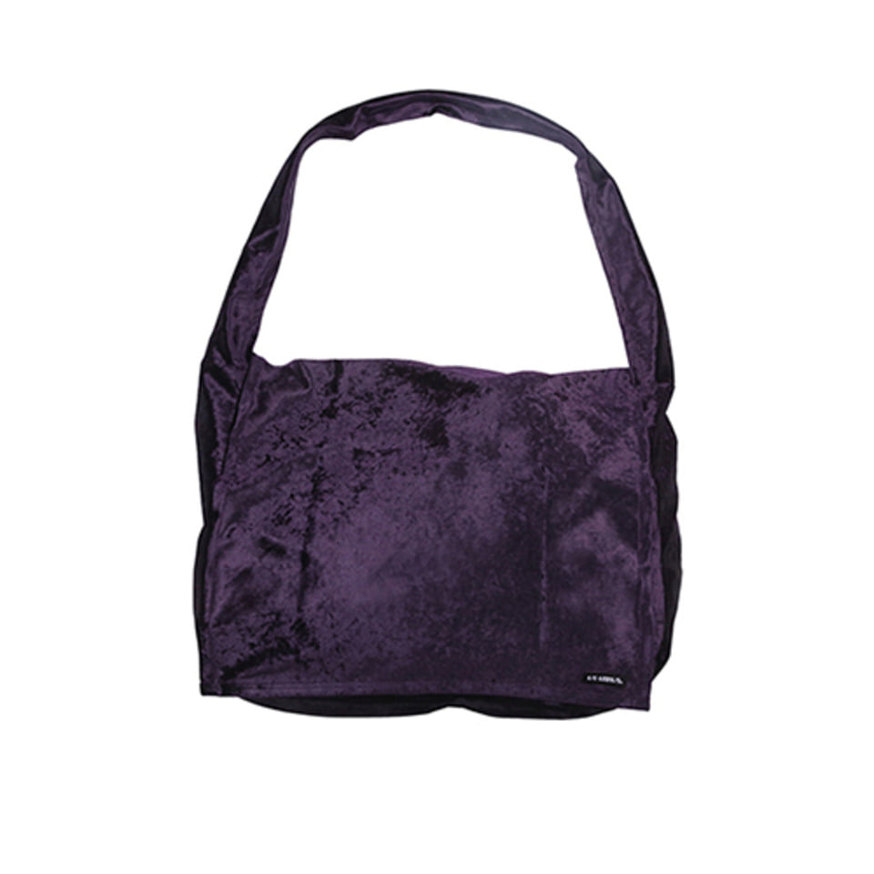 [AJOBYAJO]Velvet Messenger Bag [Purple]
