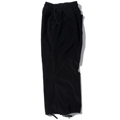 [KRUCHI] Corduroy Easy Pants (black)