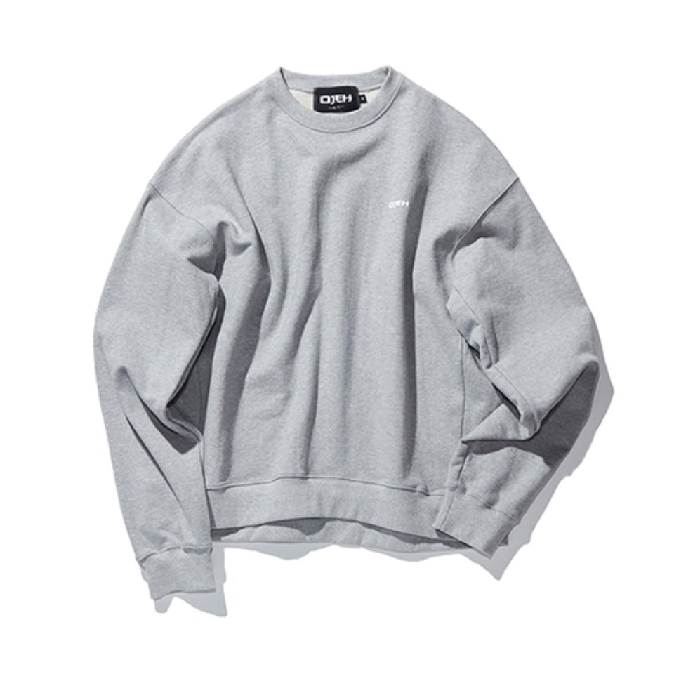 [OJEH] OG logo sweat - grey