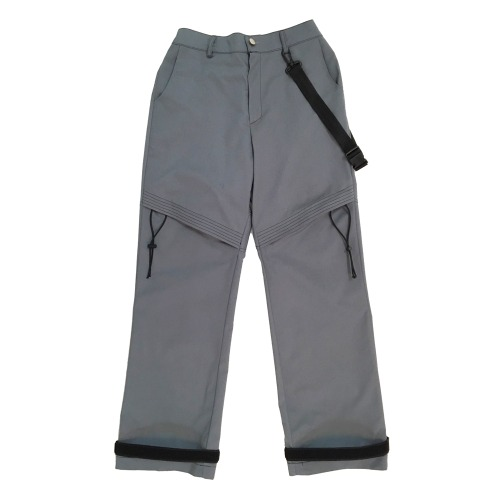 [VERDAMT] Incision Pants - Gray