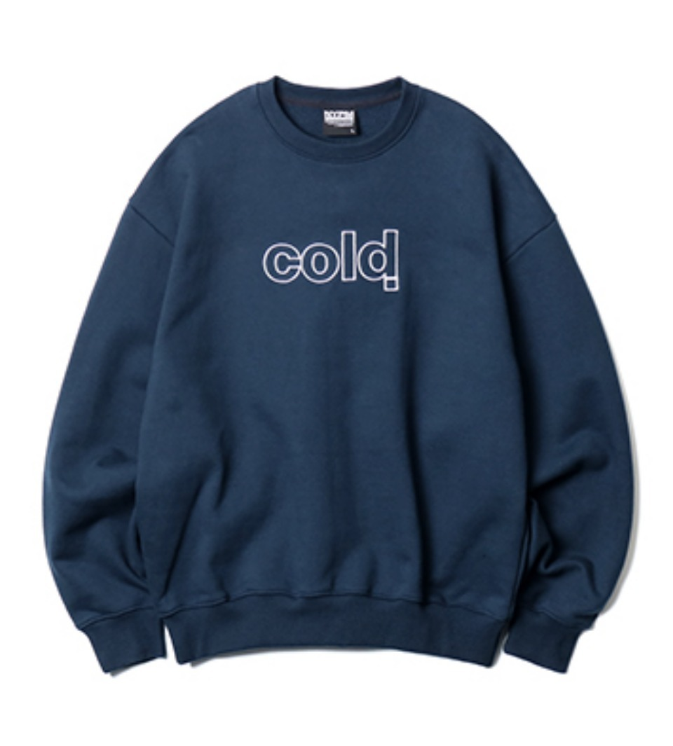 [NP] NASTY WINTER SWEATSHIRT NAVY (NP18A057H)