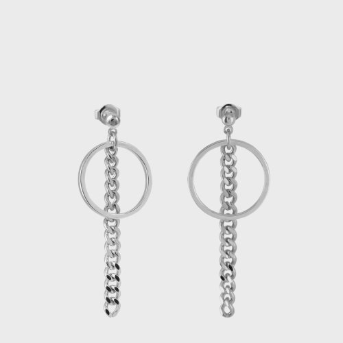 [NONENON] RING CHAIN EAR