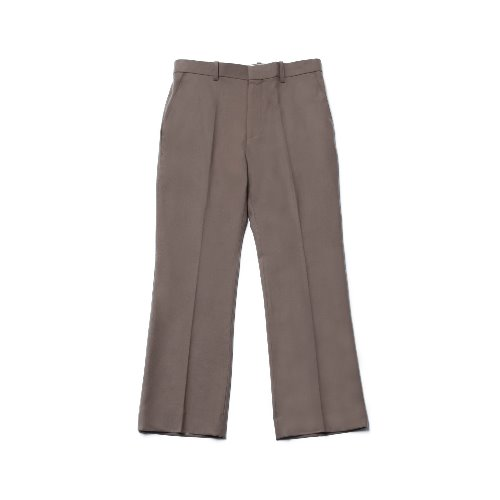 [Realization] Wide Wool Slacks [BEIGE]
