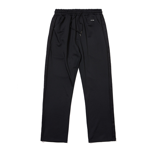 [STIGMA]BLK WIDE PANTS - BLACK