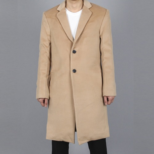 [Xsacky] Sacky 2 Button Single Coat - Camel