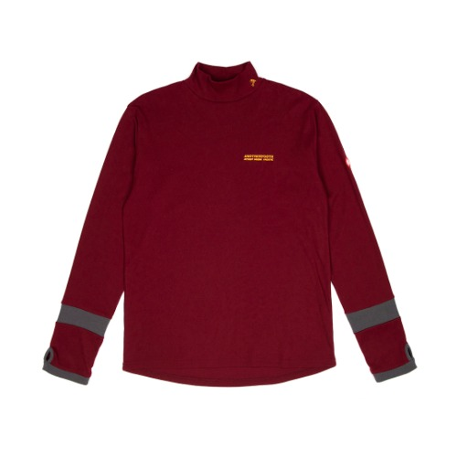 [ANOTHERYOUTH] warmer turtleneck - burgundy