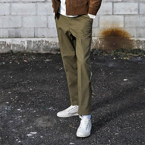 [Unionobjet] UNION CHINO PANTS - KHAKI