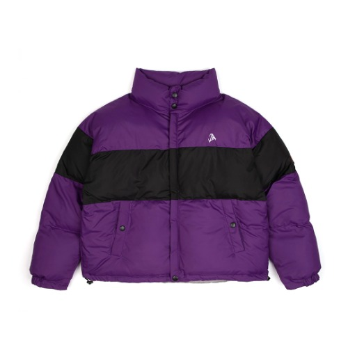 [ANOTHERYOUTH] oversize padding - purple