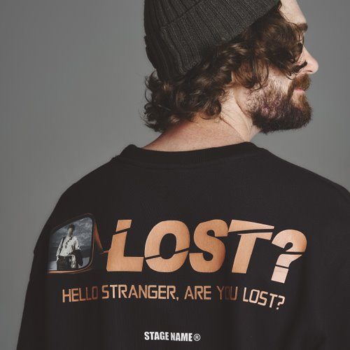 [스테이지 네임]STG lost shirts_BLACK