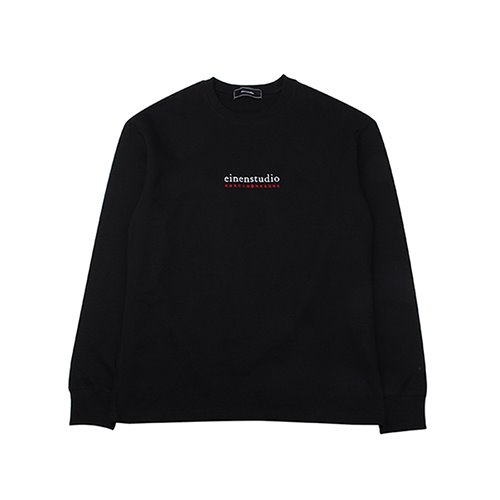 [EINEN]R Logo Long T-Shirts Black