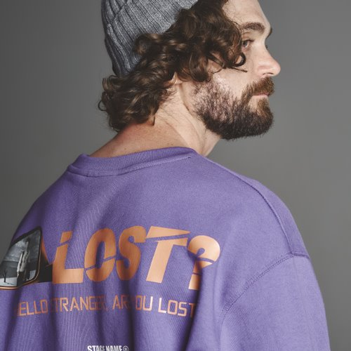 [스테이지 네임]STG lost shirts_BL PURPLE