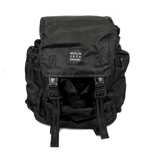 [ZANIMAL]Wolf Black Backpack