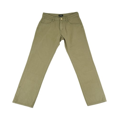 [ZANIMAL]Bzen Wide Denim Sand