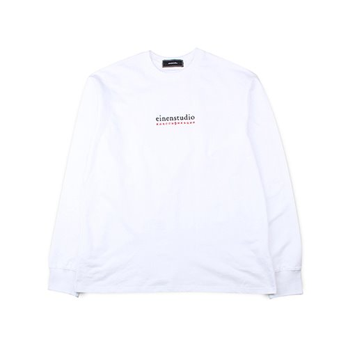 [EINEN]R Logo Long T-Shirts White
