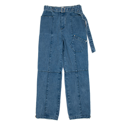 [ANOTHERYOUTH] washed denim pts - blue