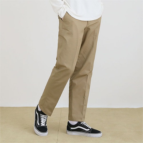 [TENBLADE] Cotton natural Pants_Beige