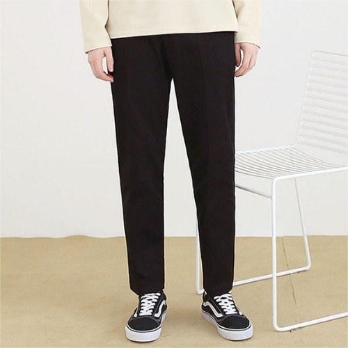 [TENBLADE] Cotton natural Pants_black