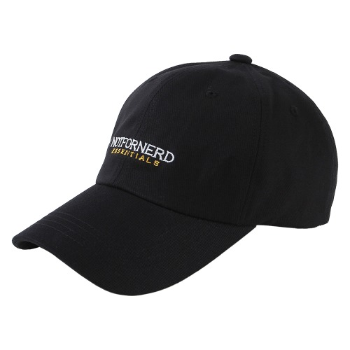 [NOT4NERD] Essential Logo Cap - Black