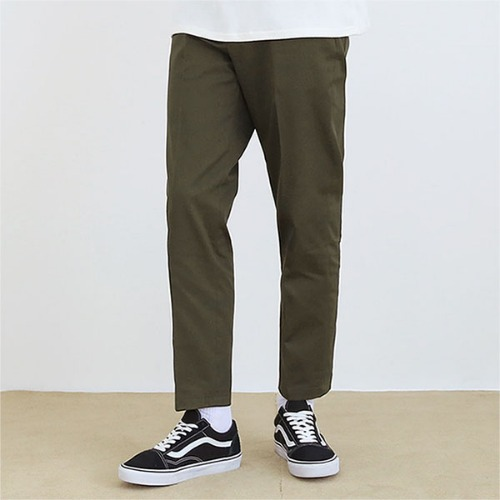 [TENBLADE] Cotton natural Pants_khaki