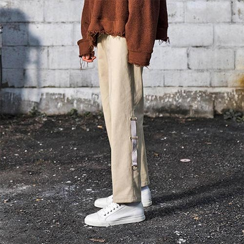 [Unionobjet] UNION CHINO PANTS - BEIGE