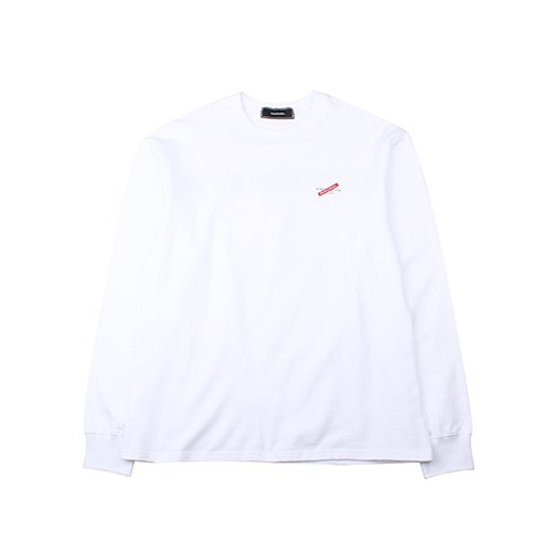 [EINEN]Distinction Long T-Shirts White