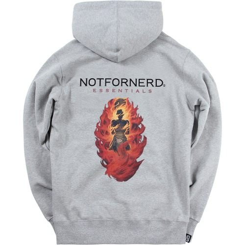 [NOT4NERD] Stake Pullover Hood - Grey