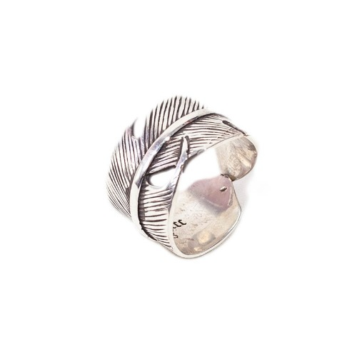 [AGINGCCC] 384# NATIVE AMERICAN FEATHER RING