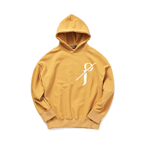 [OJEH] Pigment Hoodie - Yellow