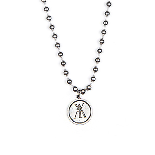 [ANOTHERYOUTH] a pendant necklace - sliver