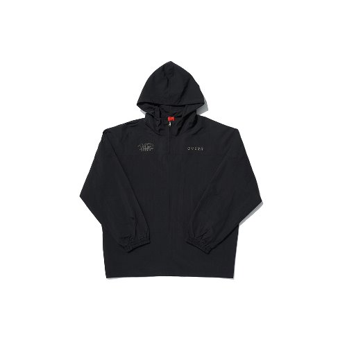 [OVERR] TOME.5 BLACK HOODIE ANORAK
