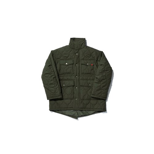 [OVERR] TOME.5 QUILTING KHAKI FIELD JACKET