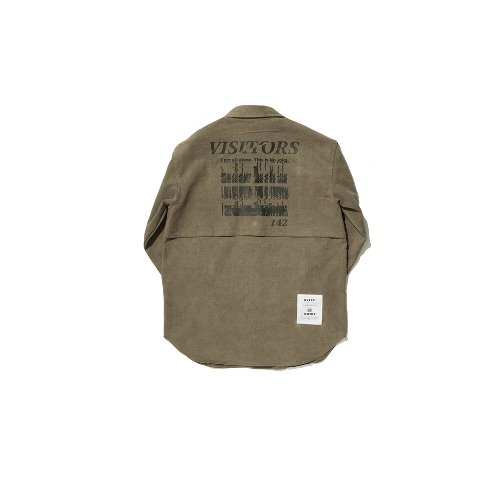 [OVERR] TOME.5 VISITORS BEIGE SHIRTS