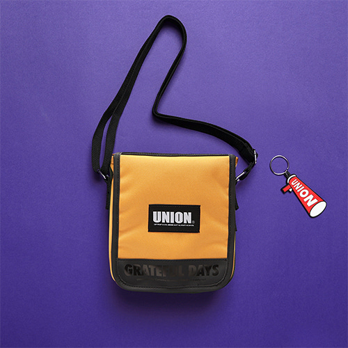 [Unionobjet] UNION COVER CROSS BAG - YELLOW