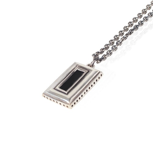 [AGINGCCC] 409# OLD FRAME NECKLACE