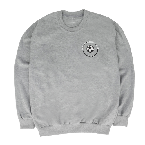 [Do'LM] Small Ball Circle Crewneck Gray