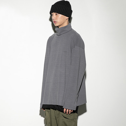 [FLARE UP] Over turtleneck CH (FU-103) - charcoal