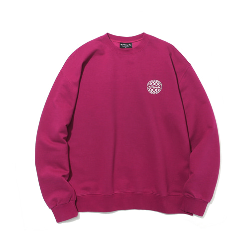 [MARKGONZALES] CIRCLE LOGO CREWNECK - PURPLE