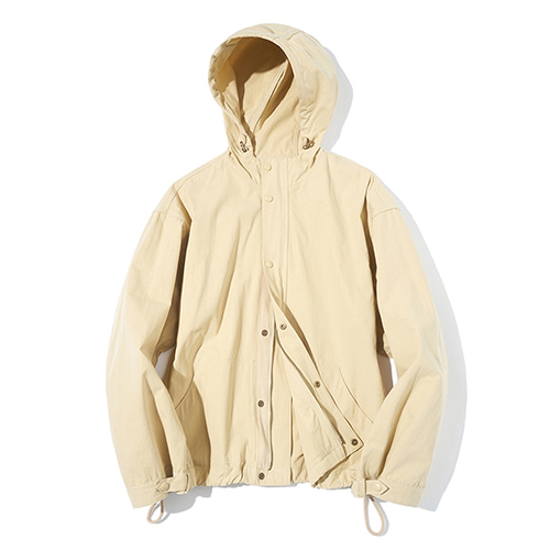 [파르티멘토] Hood Zip-up Jacket Beige