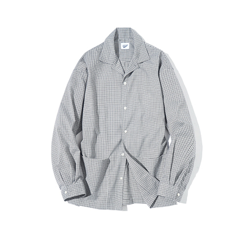 [파르티멘토] 2PK Check Shirts Gray