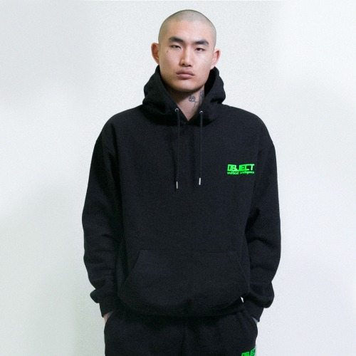 [OBJECT] UNOFFICIAL INTELLIGENCE HOODIE - BLACK