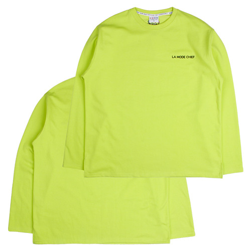 [LAMODECHIEF] LAMC LUMINOUS LONG SLEEVE (LIME)